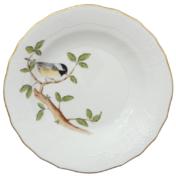 """Song Bird Dessert Plate - Chickadee 8.25""""D"""