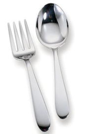 Sterling Silver Fork & Spoon Set