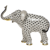 "Elephant Luck Black 5.9""L X 5""H"