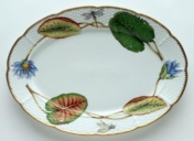 Seascape Waterlily Oval Platter