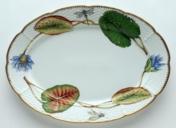 Seascape Waterlily Oval Platter