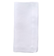Set of 4 Bodrum Riviera Pure White Napkins