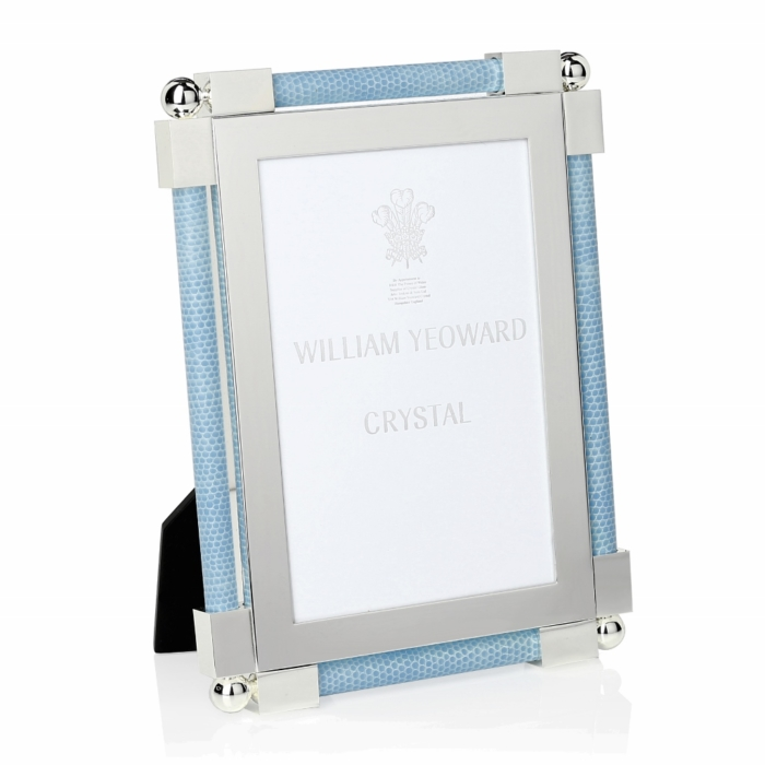 William Yeoward Classic Shagreen Light Blue frame