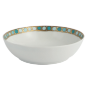 Syracuse Turquoise Coupe Soup Bowl