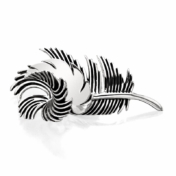 grainger mckoy feather placecard holder