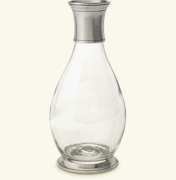 Pewter Tall Carafe With Collar