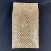 Terrafirma Ceramics Asparagus Platter Taj Mocha