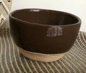 Terrafirma Ceramics Medium Dip Bowl Chesnut