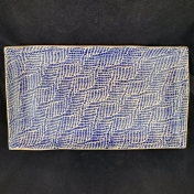 Terrafirma Ceramics Medium Stax Braid Cobalt