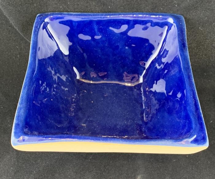 Terrafirma Ceramics Square Dip Cobalt
