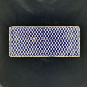 Terrafirma Ceramics Tart Tray Dot Cobalt