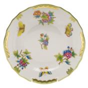 """Queen Victoria Dessert Plate  8.25""""D"""