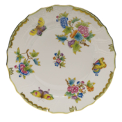 "Queen Victoria Dinner Plate  10.5""D"
