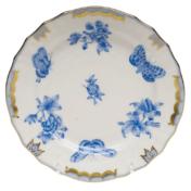 "Fortuna Blue Bread & Butter Plate 6""D"