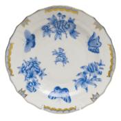 """Fortuna Blue Salad Plate 7.5""""D"""