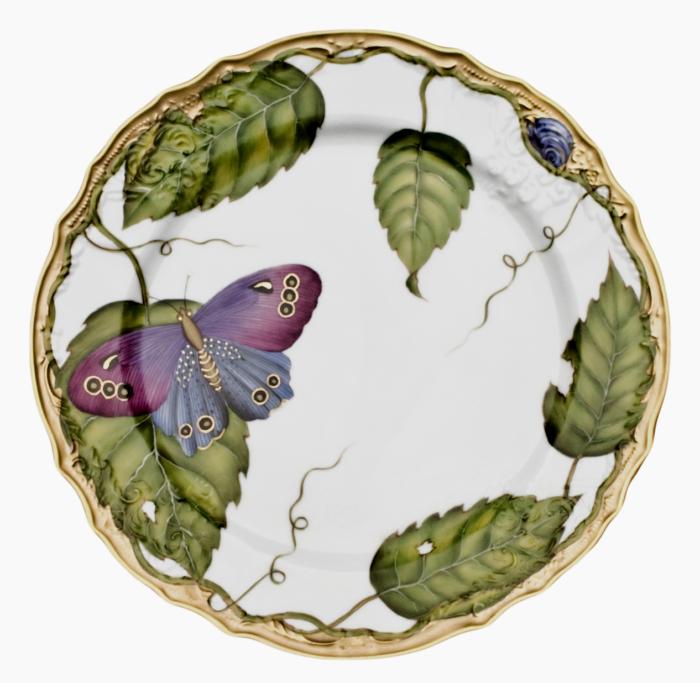 Exotic Butterflies Exotic Butterflies Salad Plate