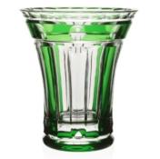WYC Emerald Flower Vase 6in