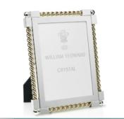WYC Gold Twist 5x7 Frame