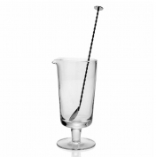 WYC Lillian Footed Cocktal Mixer and Stirrer