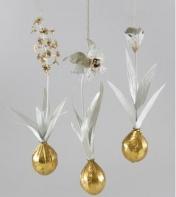 White Gold Flower Bulb