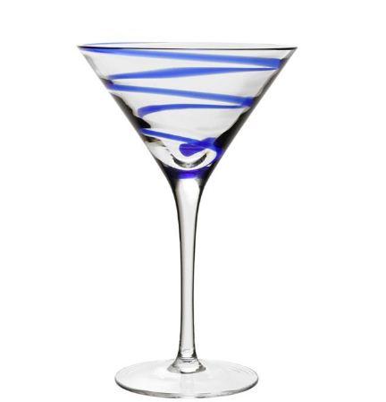 William Yeoward Bella Blue Martini