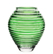 William Yeoward Circe 11 inch Vase Green