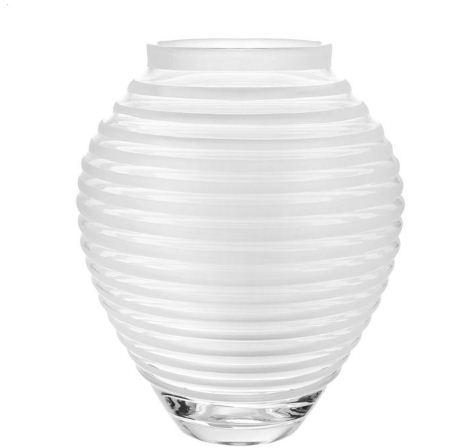 William Yeoward Circe 16 inch Vase Frost