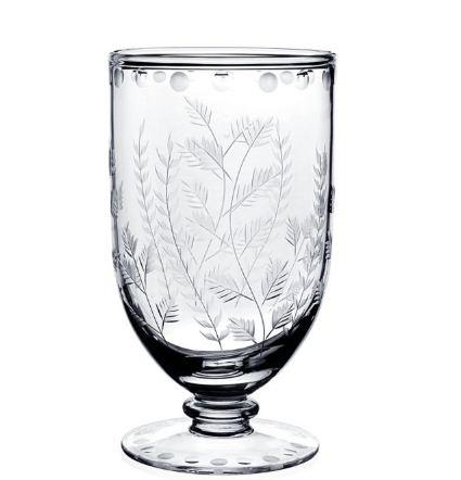 William Yeoward Fern Footed Flower Vase 7 inch