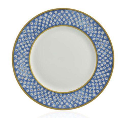 William Yeoward Leckford Dinner Palte Blue