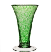 William Yeoward Vanessa Vase Forest Green 9 inch