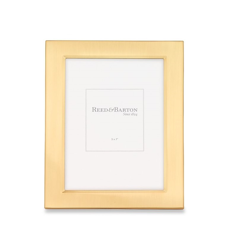 Satin Gold Frame, 5x7 - Elizabeth Bruns, Inc.