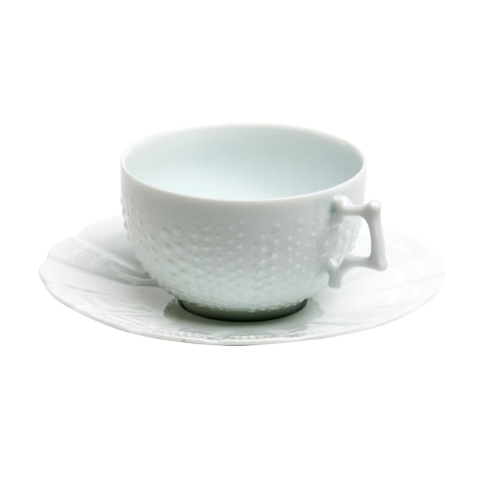 corail white cup and saucer