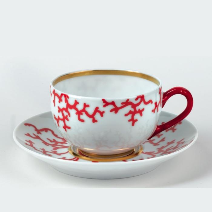 Cristobal Coral Tea Cup