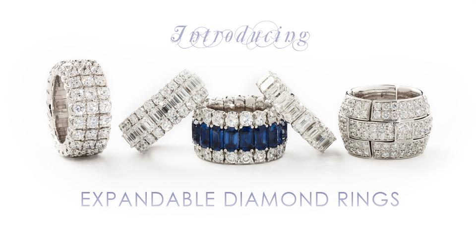 Expandable Diamond Rings