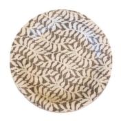 terrafirma ceramics chestnut fern lowbowl