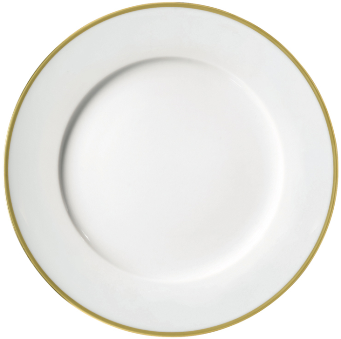Fontainebleau Gold Salad Cake Plate