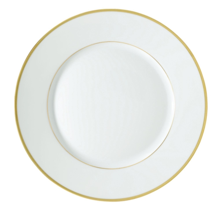 Fontainebleau Gold with Filet Dinner Plate