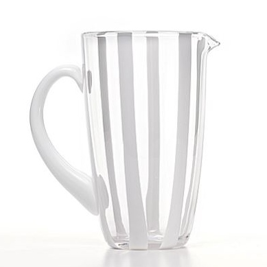 Zafferano Gessato Pitcher Clear