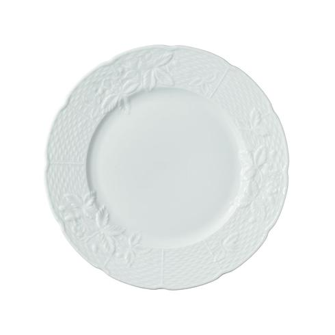 George Sand White Dessert Plate