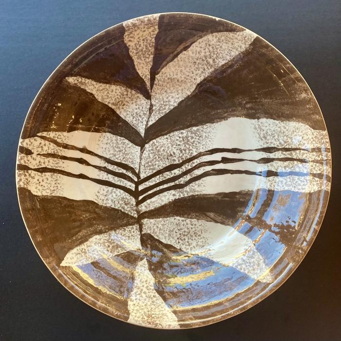 """16"""" Centerpiece Zebra Chestnut"""