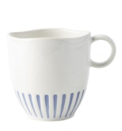 wanderlust sitio stripe indigo mug