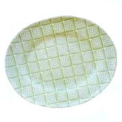 terrafirma ceramics banquet oval deco citrus
