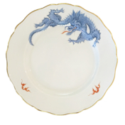 Ming Dragon Style Light Blue
