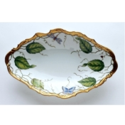 ivy garland oval vegetable dish