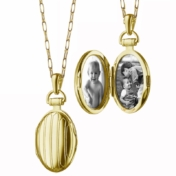 monica rich kosann petite pinstripe locket