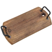 Rectangle Oak Platter with Handles