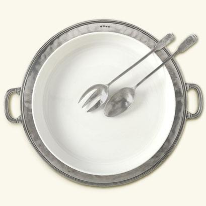 Match Pewter Round serving platter