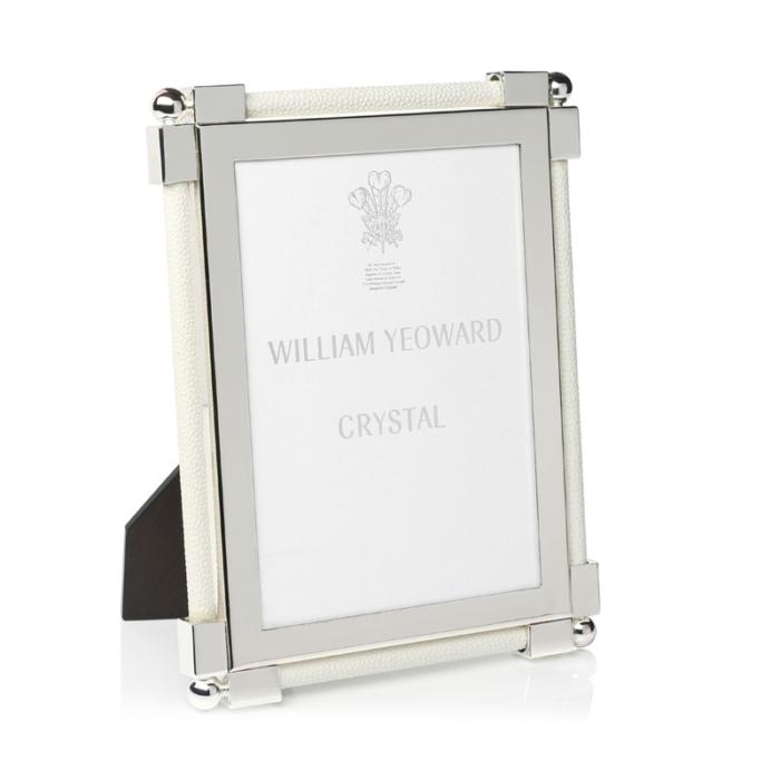 William Yeoward Classic Shagreen white frame