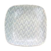 terrafirma ceramics sm square bowl chevron opal