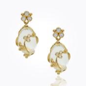 temple st. clair vine amulet earring